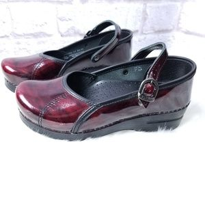 Dansko red shoes size 37 7